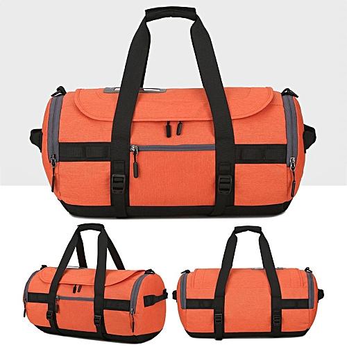 6d8612b6a8f6 Fashion Waterproof Sports Gym Travel Duffle Bag Fitness Training Yoga  Shoulder Handbag Orange