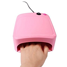 bluerdream-36W UV Lamp Light Nail Dryer Manicure Gel With Timer-Pink