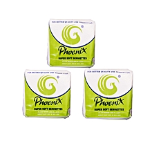 Phoenix serviettes 3 packets