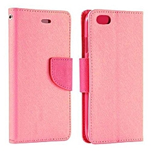 Bluelans Leather Wallet Gel Pouch Case Cover For IPhone 6/6S Pink