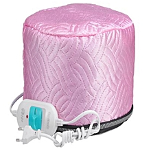 PC-001C 220-250V 3 strength Hair Care baking oil cap steaming hot hair salon membrane electric cap pink normal