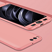 GKK for  Xiaomi Mi 6 PC Three - paragraph Shield 360 Degrees Full Coverage Protective Case Back Cover(Rose Gold)