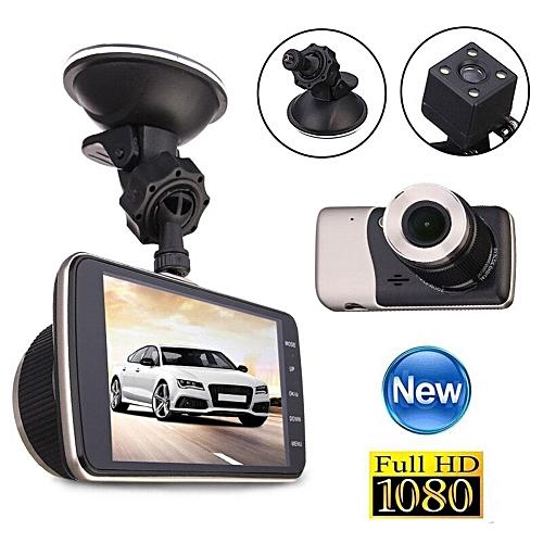 Universal 4 Dual Lens Camera Hd 1080p Car Dvr Vehicle Video Dash