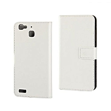 Mooncase Case For Huawei G8 Mini Carbon Fiber Resilient Drop Protection Anti-Scratch Rugged Armor Case White