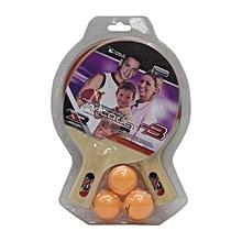 Table Tennis Set (2bats + 3balls): Tb26401: Joerex