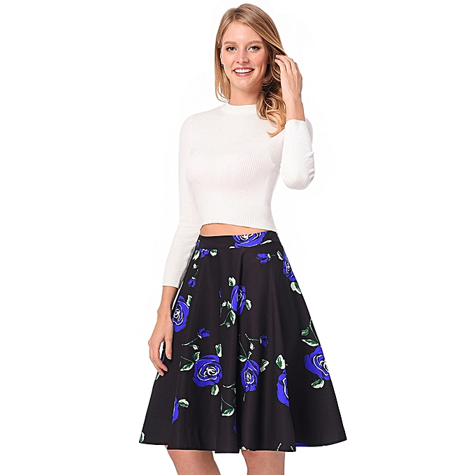 aa105a6ae2 Generic Dress Women Spring Casual Dresses And Summer Retro Dress ...