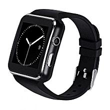 X60 Sleek Smart Watch Phone – Black