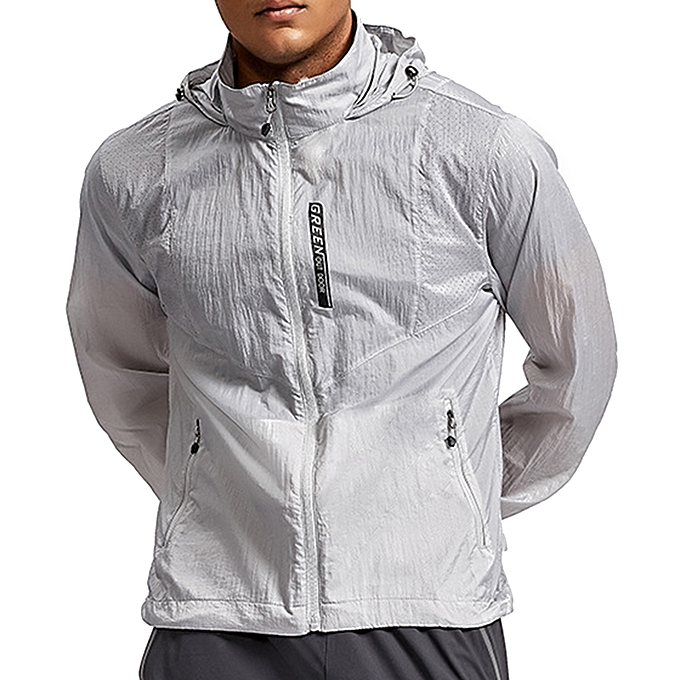 Summer Outdoor Sunscreen Lightweight Breathable Waterproof Portable Skin  Jacket