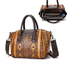 Vintage Retro Women Ladies Leather Bag Handbag Tote Shoulder Shopping Messenger