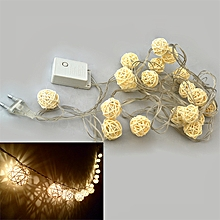 1PCS 3W 4M 20LED Warm White Balls Style Light String 110 - 220V - Warm White Light