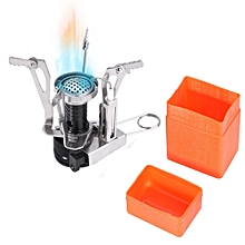 Camping Gas Burner Foldable Integrated Stove Head with Adjustable Switch