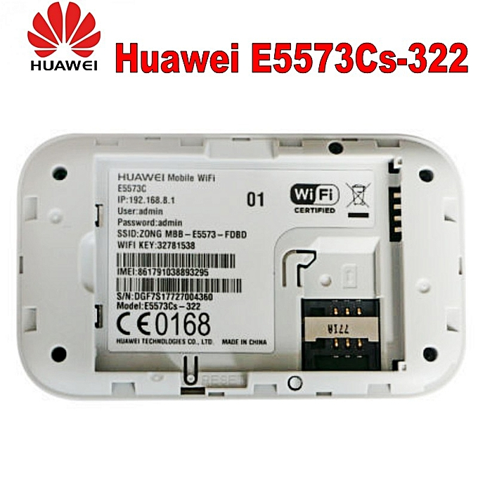 Huawei E5573 E5573cs-322 150Mbps 4G Modem Dongle Lte Wifi Router