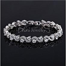 ce0b147f06 925 Sterling Silver Jewelry Lady wrist bracelet Style Bracelet Jewelry  Silver