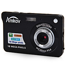 Digital Video Camera Anti-shake 8X Digital Zoom - US Plug