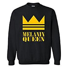 Melain Queen sweatshirt- black