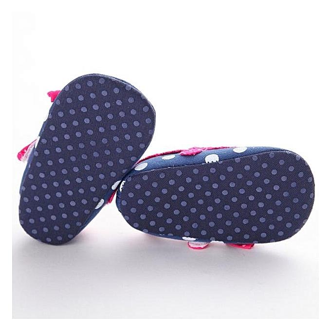 702268348 MUYI Baby Infant Kids Girl Soft Sole Crib Toddler Newborn Shoes BU ...