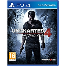 PS4 Game Uncharted 4 A Thief's End...