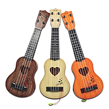 Mini Ukulele Guitar Toy for Kids, Musical Instruments Toy - Random Colour