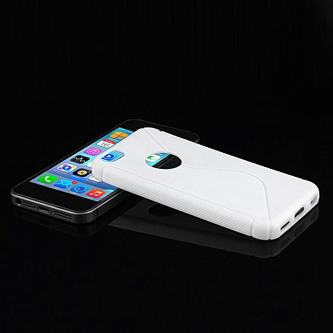 ... HP S-line Wave Back Skin Ultra-thin TPU Protective Case Cover for iphone  ... e7886c0d8c
