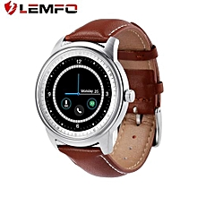 LEMFO LEM1 Pedometer Sleep Monitoring Sport Bluetooth Smart Wristwatch Adsorption Charge Sync Phone Book For IOS For Android