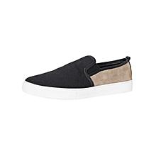 Black & Khaki Men's Sneakers