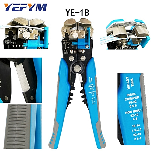 Multifunction Pliers Ye-1 Cable Cutter Stripper Crimper Terminal Automatic Electrical Pliers Self Adjustable Brand Tools Hand Tools Pliers