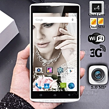 "un-locked 5.0"" Android 5.1 Cheap Smartphone 4 Core Mobile Phone 8GB 3G GPS"