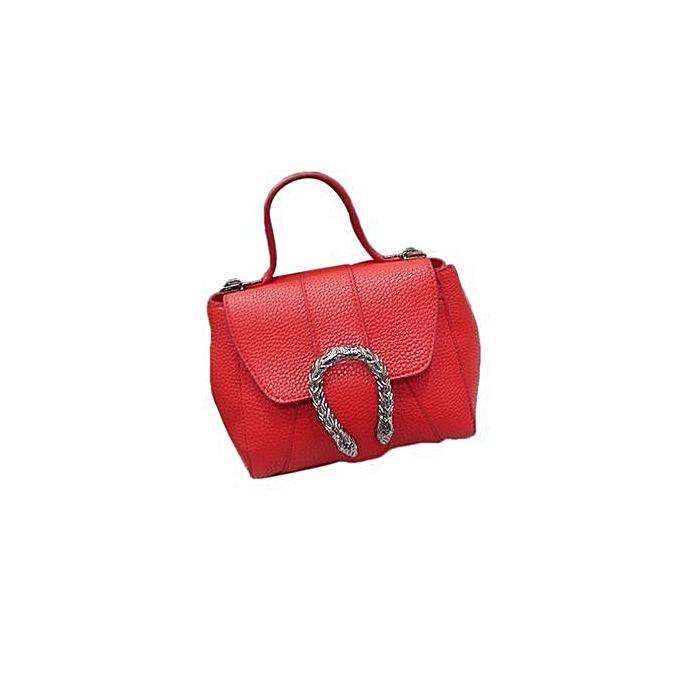 6acfa803eead ... bluerdream-Fashion Women New Summer Handbag Shoulder Bag Messenger Bag  Ladies Bag RD-Red