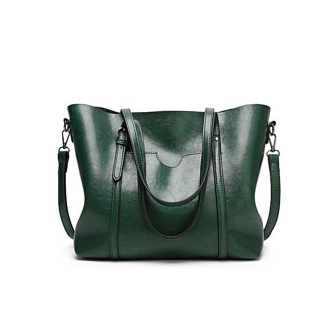 6dd88cdab5c Meibaol Store Fashion Women Crossbody Bag Shoulder Bag Tote Bucket Bag  Messenger Bag Green-Green