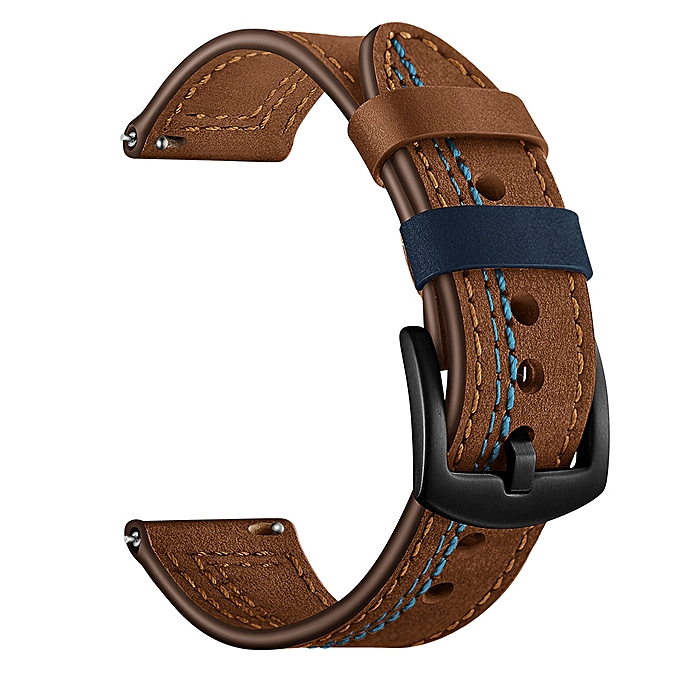 Leather Replacement Watch Wrist Strap Band For Samsung  Gear S3 22MM Smart Watch