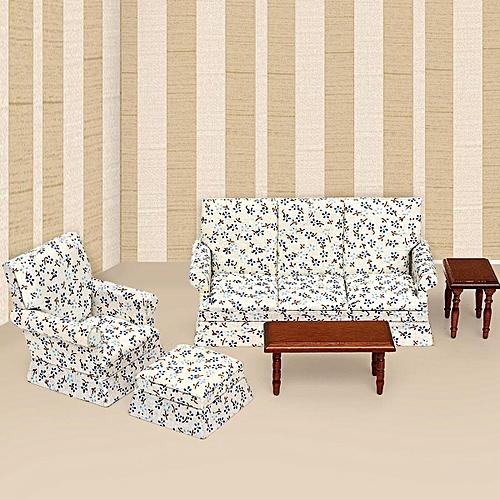 Buy Generic 5 Pcs 1 12 Puppenhaus Miniatur M Bel Wohnzimmer 3 Sofas