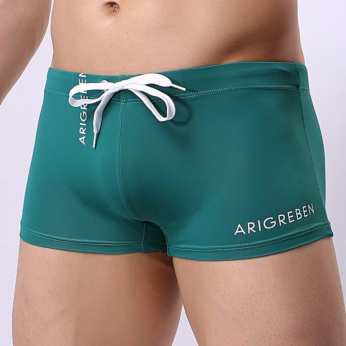 fd707d31db Generic Men's Boxer Briefs Swimming Shorts Trunks Swimwear Pants ...