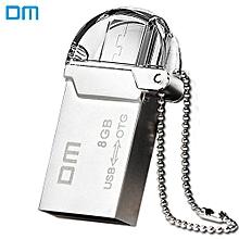 DM PD008 8G USB 2.0 + Micro USB OTG U Disk