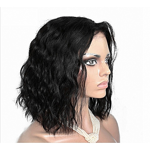 Generic Synthetic Wigs Hair Heat Resistant Fiber Wigs Women s Wigs Hair  Wave 14inch Black Color e0dffe5f6