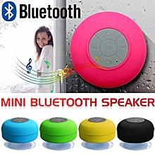 Enjoy Portable Wireless Bluetooth Speakers Mini Waterproof Shower Speaker by sucker