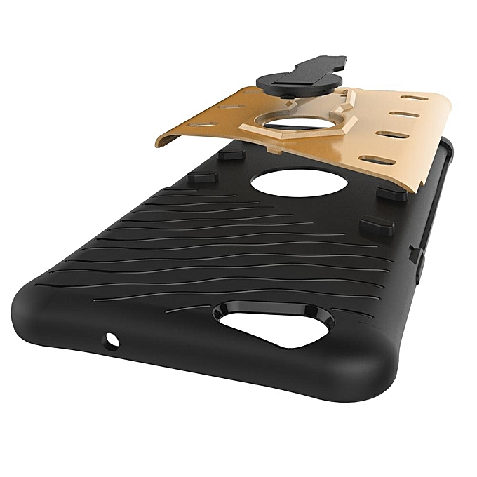 Heavy Duty Rugged Armor Shockproof Case with 360 Degree Swivel Rotating Kickstand Cover .