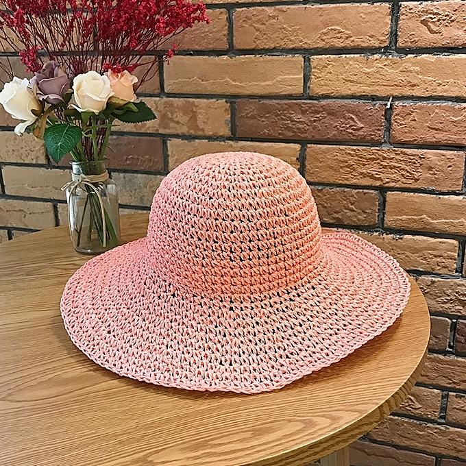 1Watermelon powder-light plank(handicraft) big Yan grassThe straw hat lady  is small e5d531e0d74