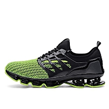 Men Running Sneakers Blade Outdoor Sports Shoes Green