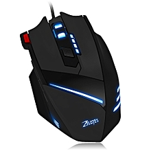 T-60 7200DPI Wired Gaming Mouse Optical Adjustable USB Computer LED Backlight Mice 7 Buttons Gaming Mouse for PC Laptop Gamer