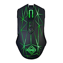 AJ52 USB Wired Gaming Mouse Backlit Programmable Game Mice Laptop 4 HT