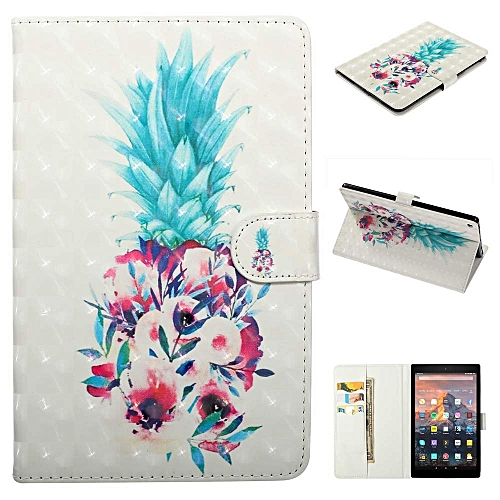 Smart Case Cover for Amazon Kindle Fire HD 10(7th Gen/ 5th Gen, 2017/2015  Release) Slim Soft TPU Inner Stand Auto Wake/Sleep,Wild Beast