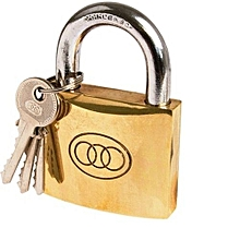 Padlock -  Size 50mm  NO 266 3 keys