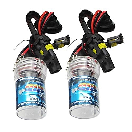 New Pair 55W 9006 HB4 HID REPLACEMENT BULB Single Bulb For Motorcycle