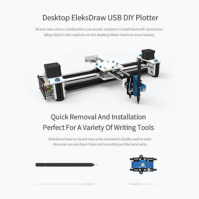 Details about EleksMaker EleksDraw Desktop DIY XY Plotter Robot