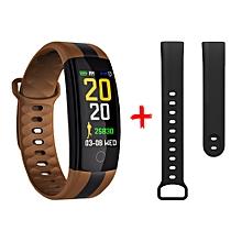 QS01 Smart Bracelet Color Display HR Blood Pressure Monitor Multi sport Mode Fashion Sport Watch