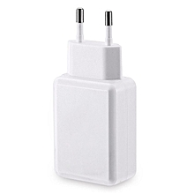 Portable Power Charger Adapter Universal EU - White