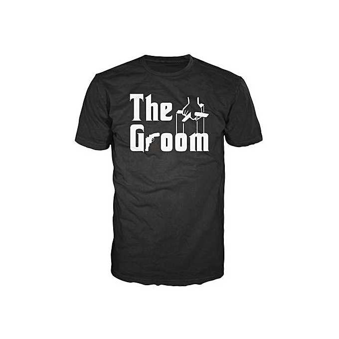 The Groom Wedding Funny Hubby Fiance Stag Party Godfather T-shirt