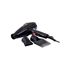 GEK 3000 Hairdryer - 1700W - Black