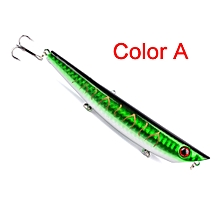 1PC Fishing Lures 12cm Plastic Hard Bass Baits 5 Colors Minnow Lures