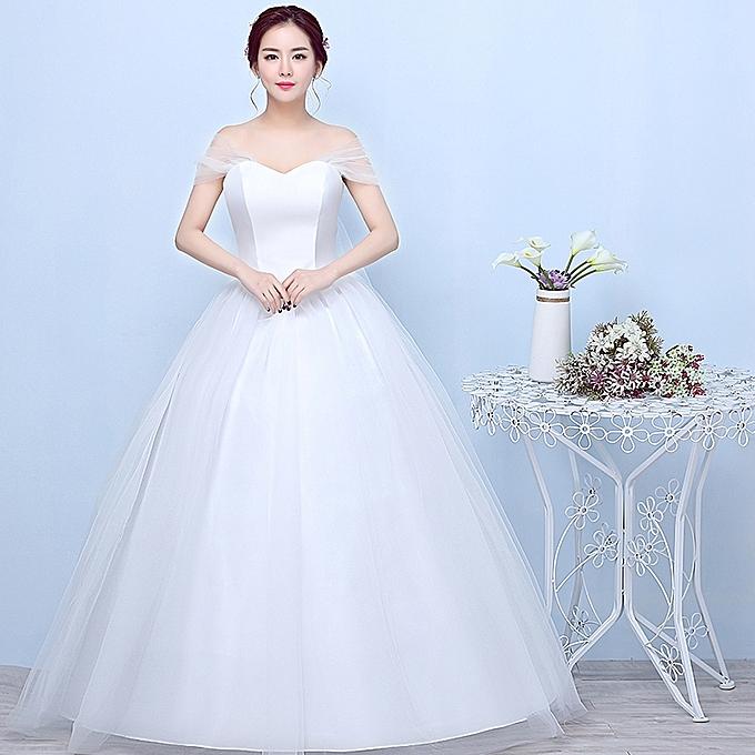 Fashion Simple Wedding Gowns e78d85d23d